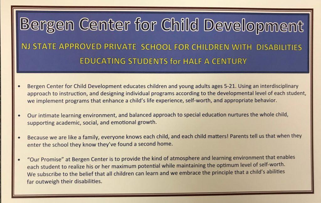 Community Resource Fair | Bergen Center for Child Development